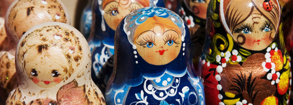 Russian dolls, babushki
